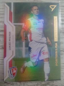 Fotbalová kartička - Lukáš Pfeifer - GOLD limit X/99