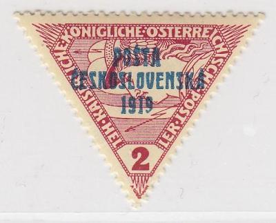 23. PČ 1919 POF. 55 SPĚŠNÁ 2h II. typ ** zk. Vrba, Mrňák - LUXUSNÍ