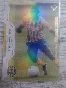 Fotbalová kartička - Christ Joel Tiehi - GOLD limit X/99