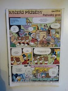 Časopis, Mickey Mouse z roku 1991, bez obálky