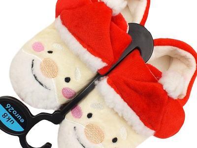 NOVÉ! Hřejivé, vánoční bačkůrky Primark, vel.26