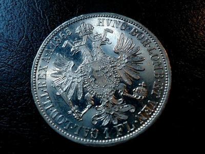 1 Zlatnik 1863 A  Top Stav RL UNC