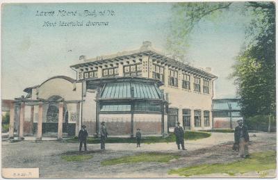 33 - Litoměřicko, Lázně Mšené, Nová lázeňská dvorana, cca 1906
