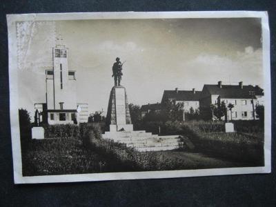 Pohlednice místopis Spořilov rok 1946 použitá od korunky