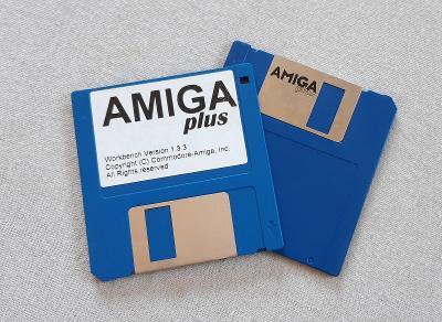 AMIGA Workbench 1.3.3  diskety 2 kusy