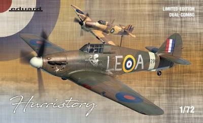 1:72 HURRISTORY Hurricane Mk.I  EDUARD dual combo