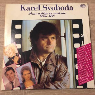 2 LP Karel Svoboda – Písně A Filmové Melodie 1966-1988