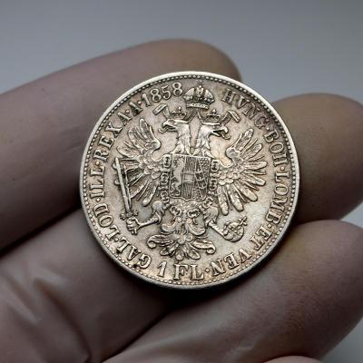 Zlatník 1858 B - vzácnější ročník