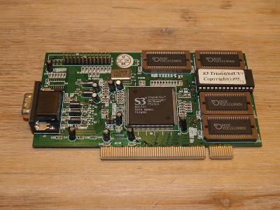 Grafická karta S3 Trio 64UV+ PCI
