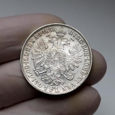 Zlatník 1858 M - vzácný ročník - katalog až 45000