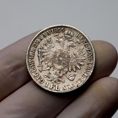 Zlatník 1859 M - vzácný ročník - katalog až 45000
