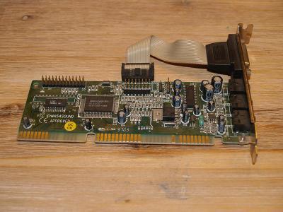 Zvuková karta Avance Logic ALS100, Sound Blaster / Pro / 16 kompatible