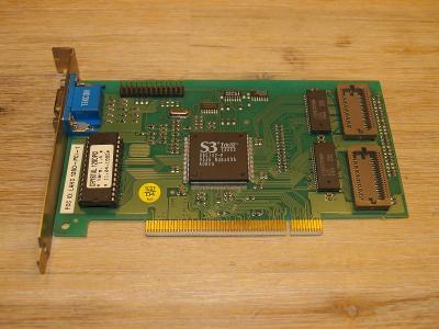 Grafická karta PCI S3 Trio32 86C732-P