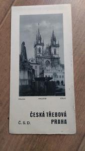 Vlakový průvodce ČSD 7 - Česká Třebová-Praha