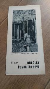 Vlakový průvodce ČSD 6 - Břeclav-Česká Třebová