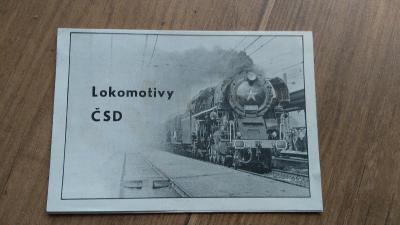 Lokomotivy ČSD (SKLÁDACÍ BROŽURA)