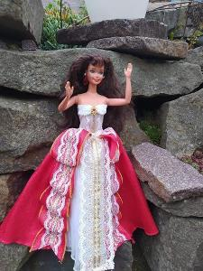Barbie Mattel Tereza, v šatech  Happy Hollyday