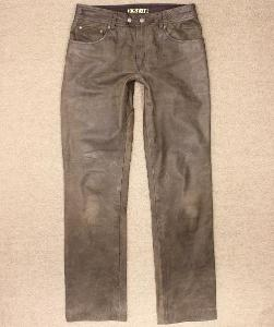 Pánské kožené motorkářské kalhoty LOUIS Highway-1 vel. M/48 #9507