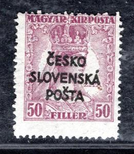 Předběžné/RV 151, Šrobárův přetisk,Zita, fialová 50 f, zk. Vr/19.45179