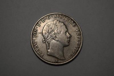 1/2 Scudo 1853 V - Franz Josef I.- Velmi Vzácné - Cena až 100,000 kč!!