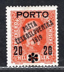 Pč 1919/87, typ I, PORTO, 20/54, oranžová, zk. Mr, Vrba/19.61078