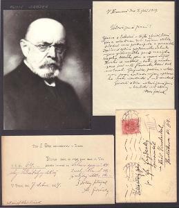 Jirásek Alois (1851-1930), český prozaik, dramatik, sběratelský list