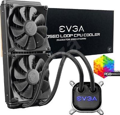 Vodní chlazení CPU EVGA CLC AIO RGB 280mm