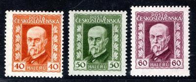 Masaryk 1923/187 - 9 A, P 2,2,3, neotypie, TGM, základní řada/19.64383