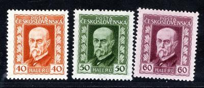 Masaryk 1923/187 - 9 A, P 2,3,2, TGM Neotypie, základní řada,/19.66299