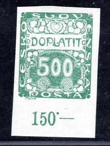 Doplatní/DL 12 - doplatní, zelená 500 h, krajová s počítadly/19.65950