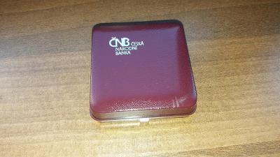 Originální plastová etue na zlaté pamětní mince ČNB