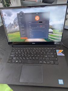"Notebook DELL XPS 15"" 4K / i7 / 32GB RAM /1TB SSD / GeForce GTX 1050"