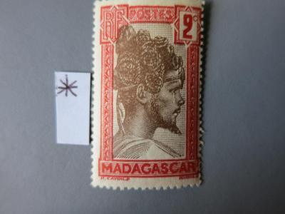 FRANCIE - KOLONIE: Madagaskar,  neražená *