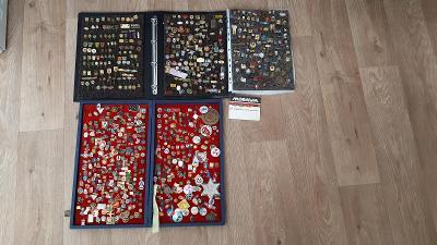 Sbírka odznaků po sběrateli - aukce od 1 Kč