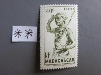 FRANCIE - KOLONIE: Madagaskar,  neražená * *