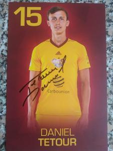Originální autogram Daniel Tetour