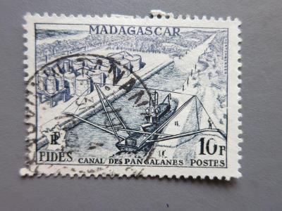 FRANCIE - KOLONIE: Madagaskar, ražená