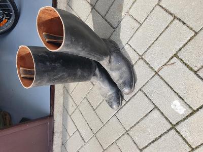 vojenské dustojnicke boty