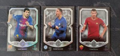 2017/18 Topps UCL Museum:  Suarez + Hazard + Dzeko