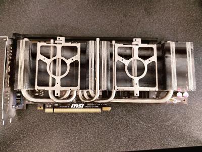 MSI N580GTX Twin Frozr II/OC NEFUNKČNÍ