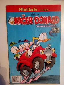Časopis, Kačer Donald, č. 2/2012, pěkný stav