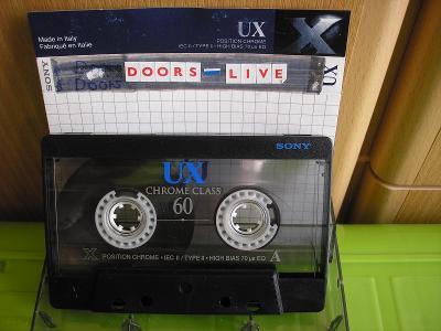 SONY UX 60CHROME -stará kazeta
