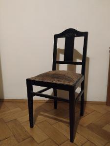 4x stará židle