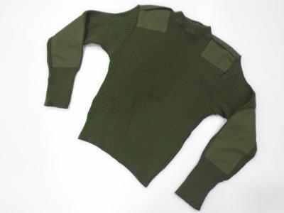 Originál. US Army/USMC svetr, 100% vlna, použitý