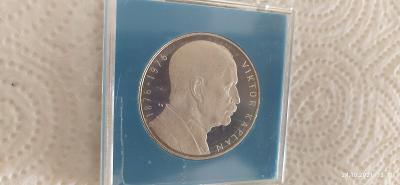Pamětní mince 100Kč 1976 stříbrná 100.výročí Kaplan PROOF