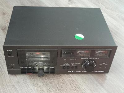 stereo cassette akai cs-702d II