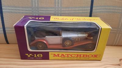 Matchbox Y-16 1928 Mercedes Benz SS Coupé