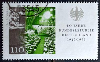 DEUTSCHLAND: MiNr.2054 Soldiers and Government Assembly 110pf 1999