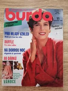 časopis - BURDA 11/1991 + střihy