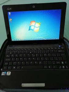 Notebook Asus v brašně vše viz foto funkčí od 1korunky..